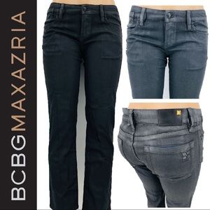 BCBGMaxazria Painted Denim Jeans